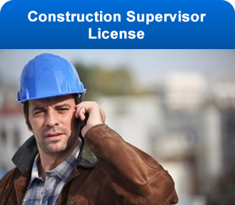 Construction Supervisor License
